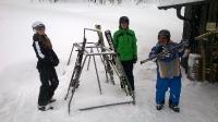 Skitag und Snobiketest Forsteralm