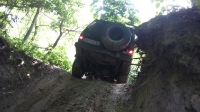 Offroad in den Wäldern bei Somogybabod